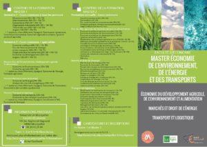 Économie de l'Environnement, de l'Énergie et des Transports (EEET)