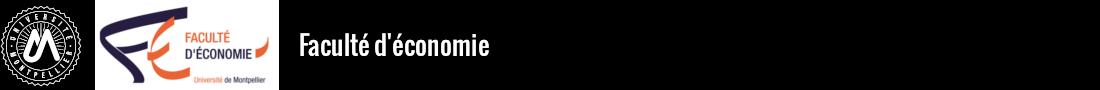 Faculté d'économie Logo